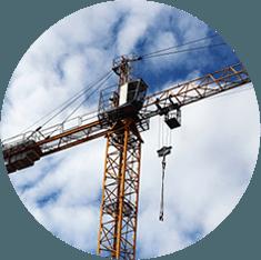 Noleggio e vendita  gru a torre per edilizia
