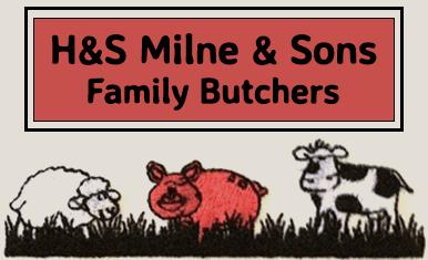H & S Milne & Son logo