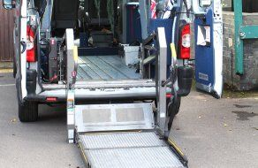 Ramps and winches