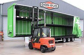 Double Deck Trailers and Dock Lifts