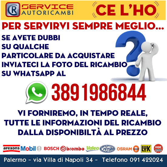 Servizio WhatsApp