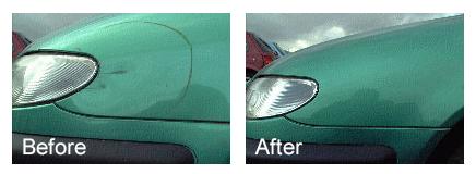 Paint touch-up service