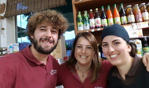 Amici al Bio Market Gusto Mediterraneo a Palau