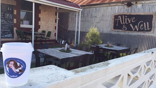 Alive and well cafe Tumby Bay