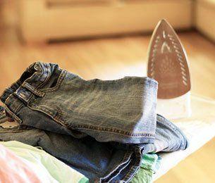 Garment ironing