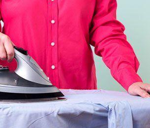 Shirt ironing