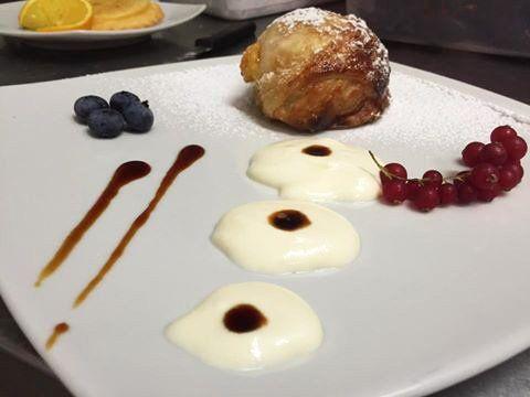 Dessert servito dal ristorante Mirto & Alloro di Roma