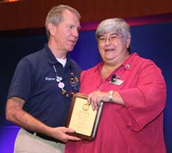 Eugene Wood LMT Receives Prestigious AMTA Meritorious Award