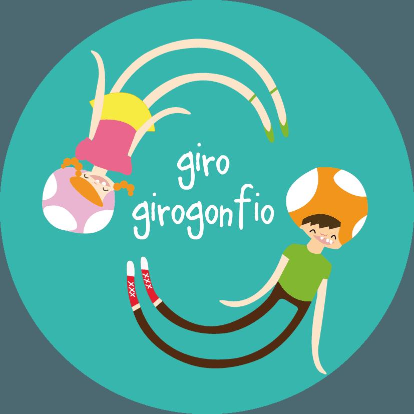GIRO GIROGONFIO LUDOTECA logo
