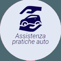 icona macchina e mano