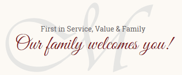 Our Family Welcomes You