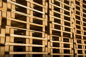 Used pallets - Leicester, Loughborough - Phil Curtis Pallets - Pallets