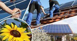 momenti di montaggio pannelli solari