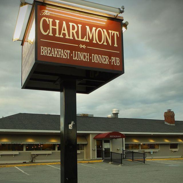 Charlmont Restaurant Sign