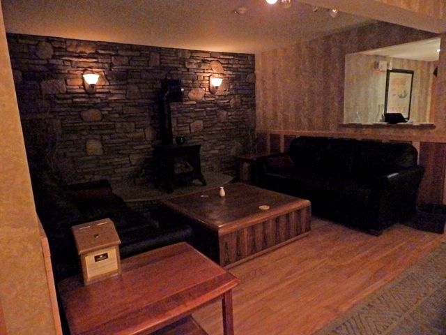 Charlmont Pub's waiting area