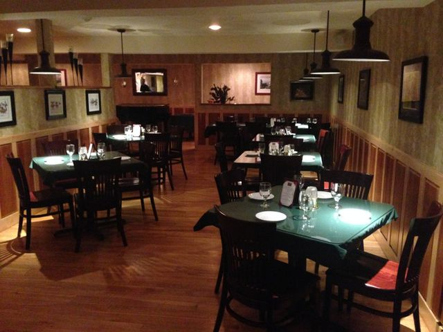 Charlmont Pub's dining area