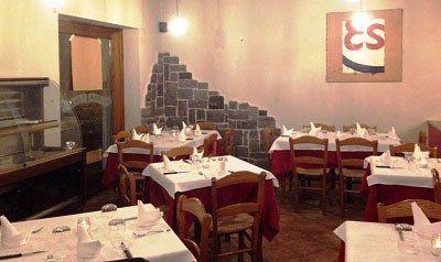 Sala della Pizzeria e Cucina I Beati