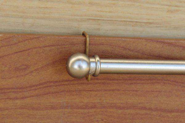 bastoncino su infisso in legno gancio corto