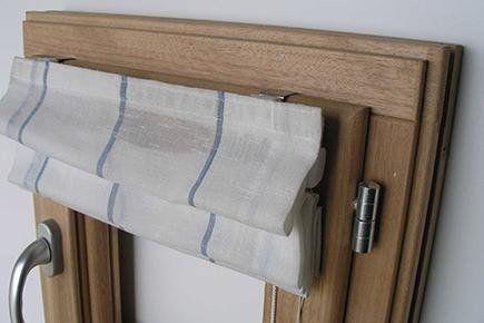 sistema completo innestato su infisso in legno