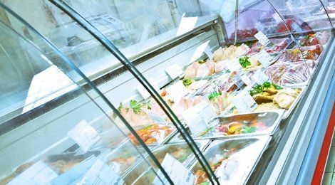 Commercial refrigeration for restaurant or a commercial kitchen
