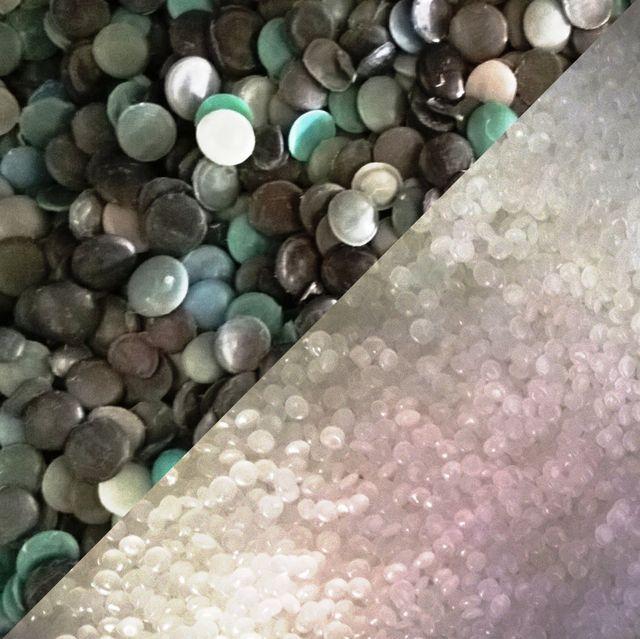 assortimento sacchetti per la spazzatura di diversi colori