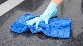 panni in microfibra per pulizia