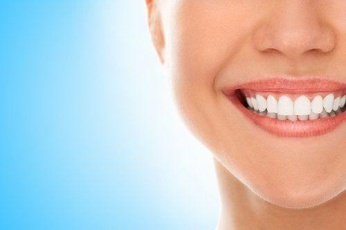Boca con un sorriso perfetto