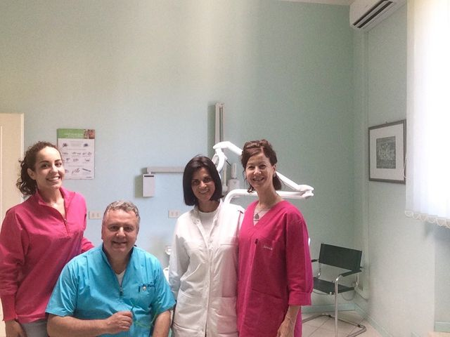 Il Dottor Bartali e il suo team