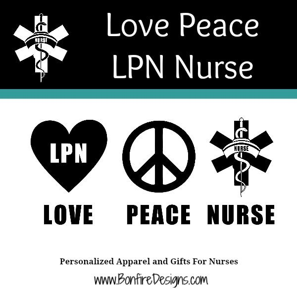 LPN Love Peace Nurse