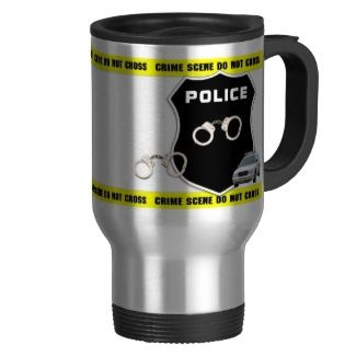Police and Law Enforcement Coffee and Travel Mugs