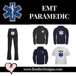 EMT Paramedic T-Shirts and Apparel