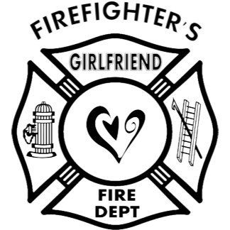Firefighters Girlfriend Logo