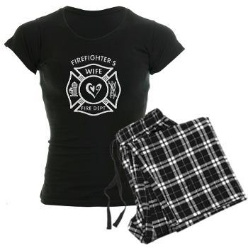 Fire Dept Cozy Pants and T-Shirt Set