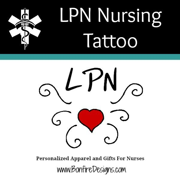 LPN Nurses Tattoo