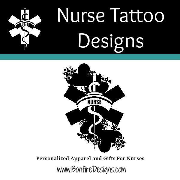 Nurse Tattoo Design