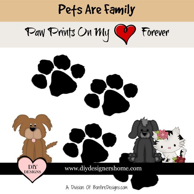 Pets Are Family Personalized Love