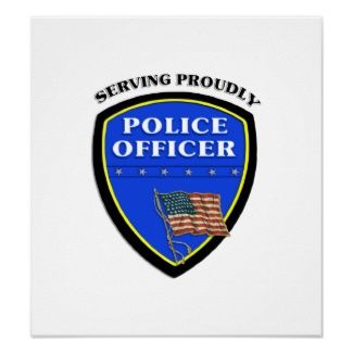 Police Posters and Art Personalized