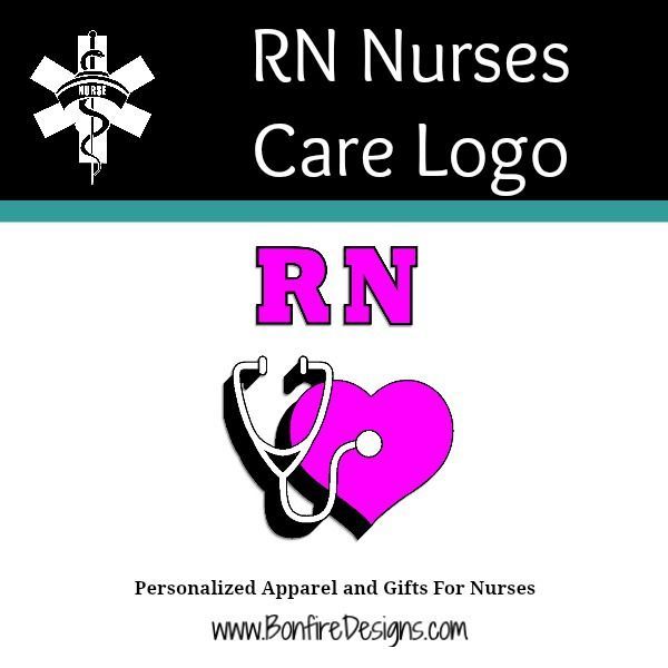 Nurses RN Care Logo
