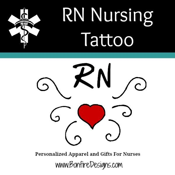 RN Nurses Tattoo
