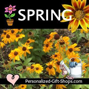 Spring Holiday Gifts Personalized