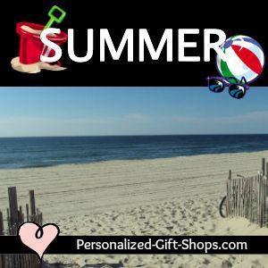 Summer Holiday Gifts Personalized