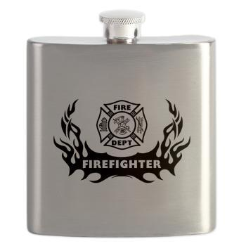 Off Duty Firefighter Flasks