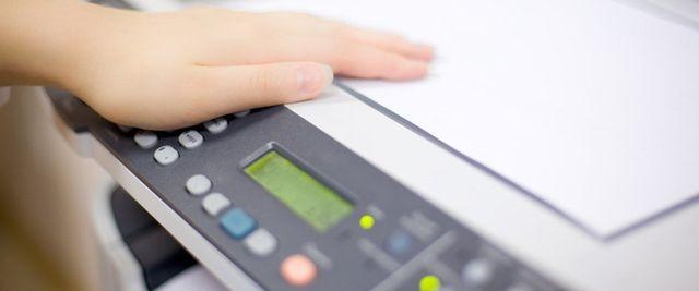 white scanner