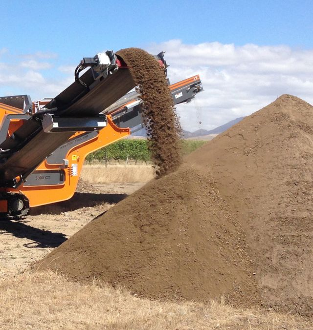 Screened soil in Blenheim