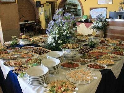 Ristorante menu carne pesce cerimonie