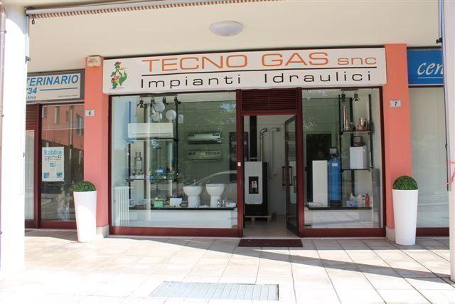 l'ingresso di Tecno Gas s.n.c.