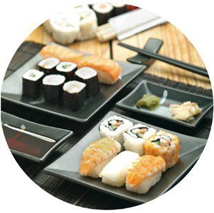 Sushi misto pesce e vegano