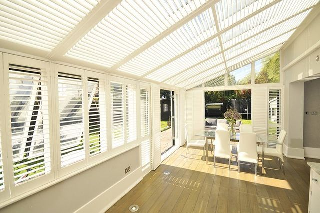 Conservatory Blinds Shutters Amp Blinds