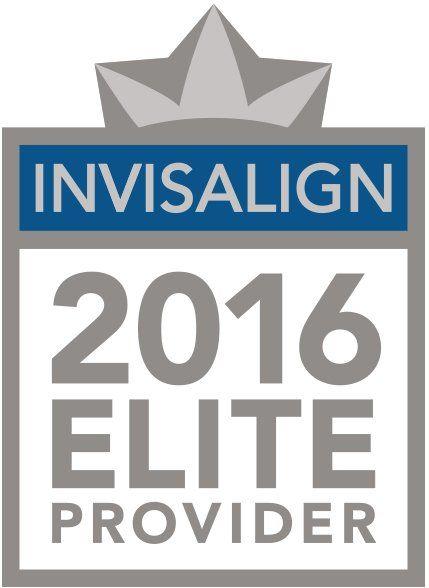 Invisalign 2016 Elite Provider logo