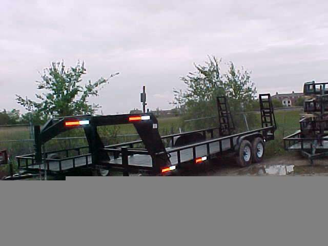 Pipe Top Gooseneck Trailer